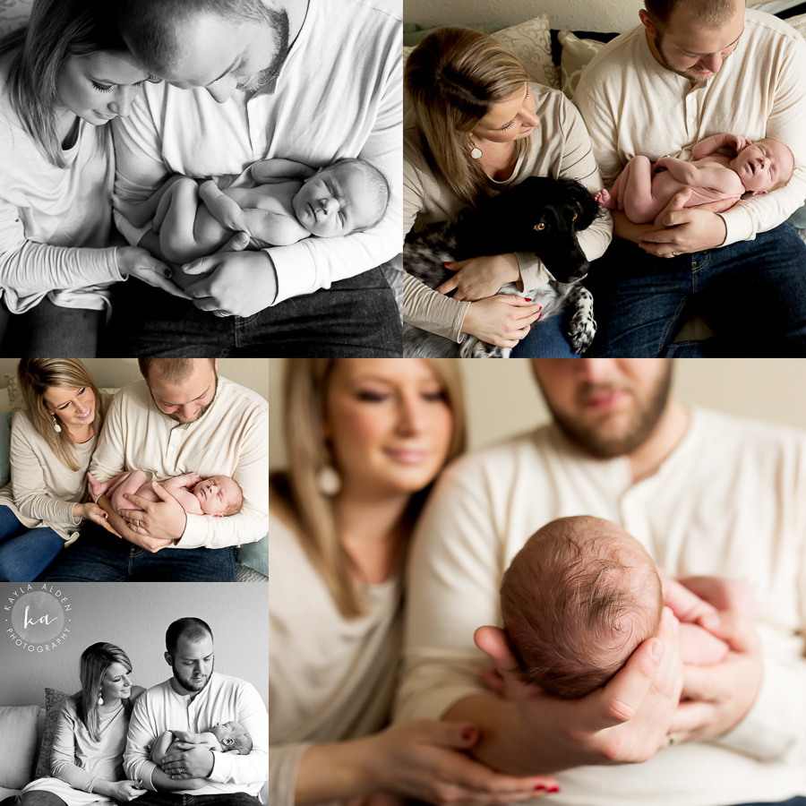KC Newborn Session // Kayla Alden Photography