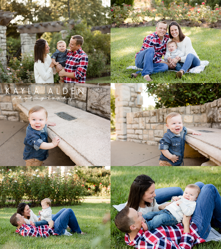 KC MO Family and One Year Milestone Session // Kayla Alden Photography