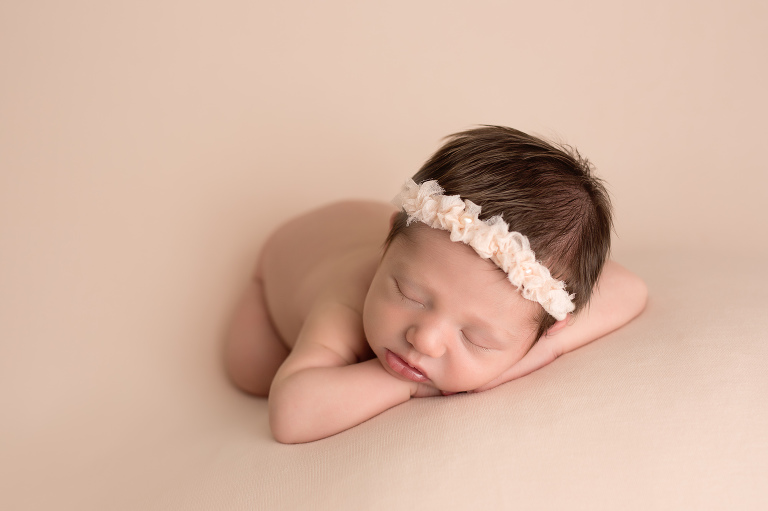 baby girl session